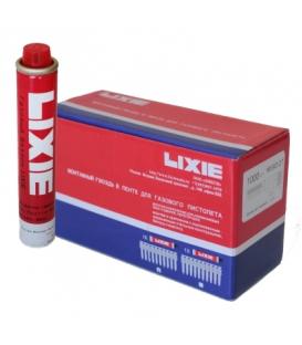 Дюбель-гвозди LIXIE WSD-K усиленные с насечкой по бетону, металлу, кирпичу и газовый баллон