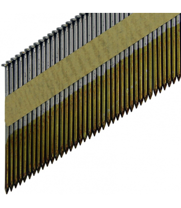 Гвозди для работ по дереву с гальванизацией в касете D34