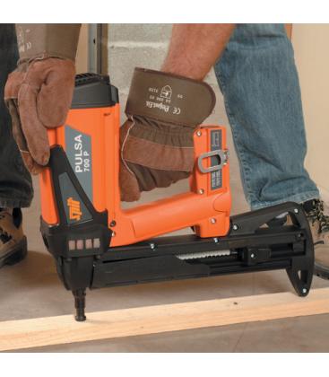 Монтаж деревянных направляющих с использованием монтажного пистолета SPIT Pulsa