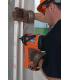 Монтаж пластиковых кабель-каналов к бетону газовым монтажным пистолетом Pulsa 700 с гвоздями CG6