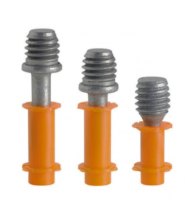 Гвозди c резьбой SPIT THC6-M6 по бетону и металлу для Pulsa 800