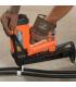 Монтаж скобы для труб P-Clip газовым монтажным пистолетом