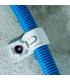 Фиксация гофротрубы с помощью односторонней монтажной скобы P-Clip