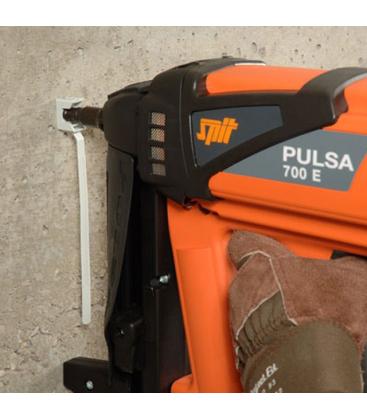 Стяжка-хомут с площадкой CT CLIP - монтаж газовым пистолетом SPIT Pulsa 700