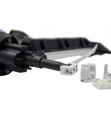 Газовый монтажный пистолет для электромонтажа Toua GSN50 с клипсой на стволе