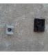Пристрелка пластиковых клипс к бетону газовым монтажным пистолетом Toua GSN50