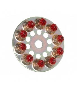 SPIT Индустриальные патроны 6.3х10 в барабане