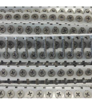 Саморезы в ленте от TOUA ГКЛ-металлопрофиль 3,5х25 мм