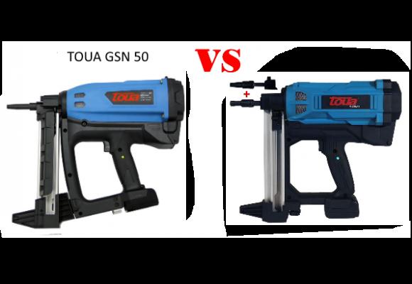 Сравнение пистолетов TOUA GSN50E и TOUA GSNF1